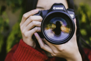 Photographer - Through the Camera Lens   by photosbylanty