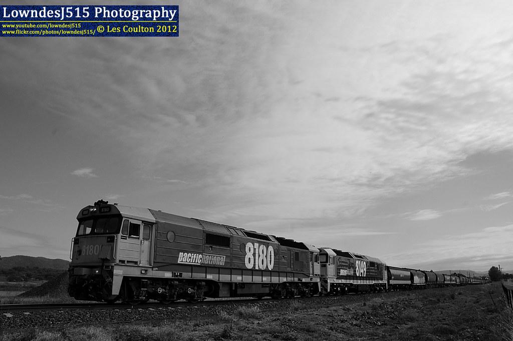 8180 & 8149 at Werris Creek by LowndesJ515