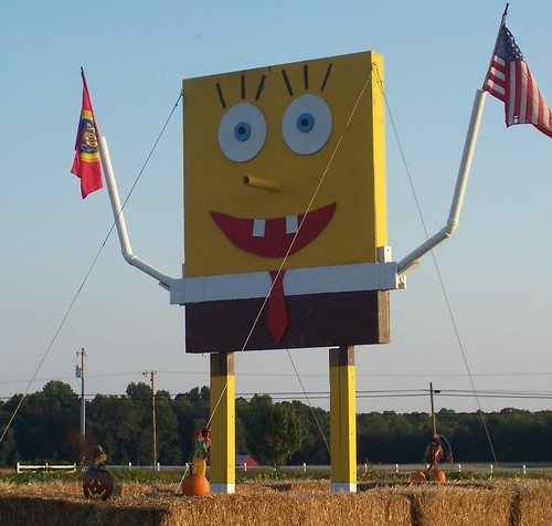 Sponge Bob at Bowles Farms, Clements