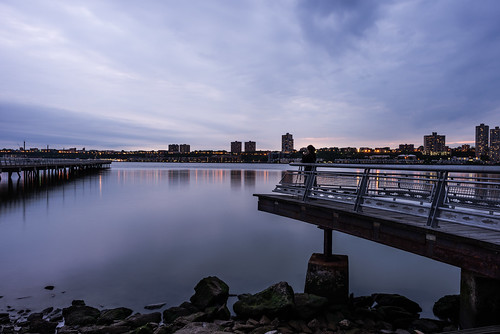 digitalphotography landscape longexposure nyc newjersey newyorkcity nikond600 reflection flickrfriday cloudy night