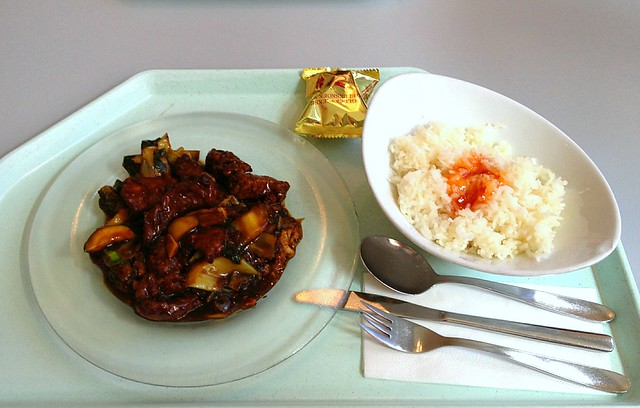 Pla Pad Ped - Fisch mit Chili-Bratgemüse / Fish with fried chili vegetables