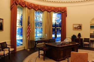 Atlanta - Poncey-Highland: Jimmy Carter Library and Museum - Oval Office | by wallyg
