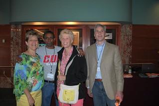 John, Haile, Deb, and Paula. AFI Event 2013 | by Shepherd's Table 2013