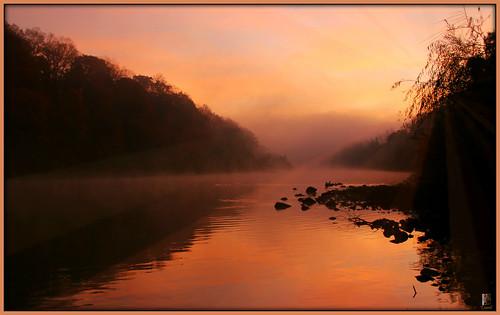 londonontario ontario canada fog morning misty sunrise