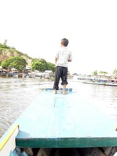 Riverboat kid, Cambodia