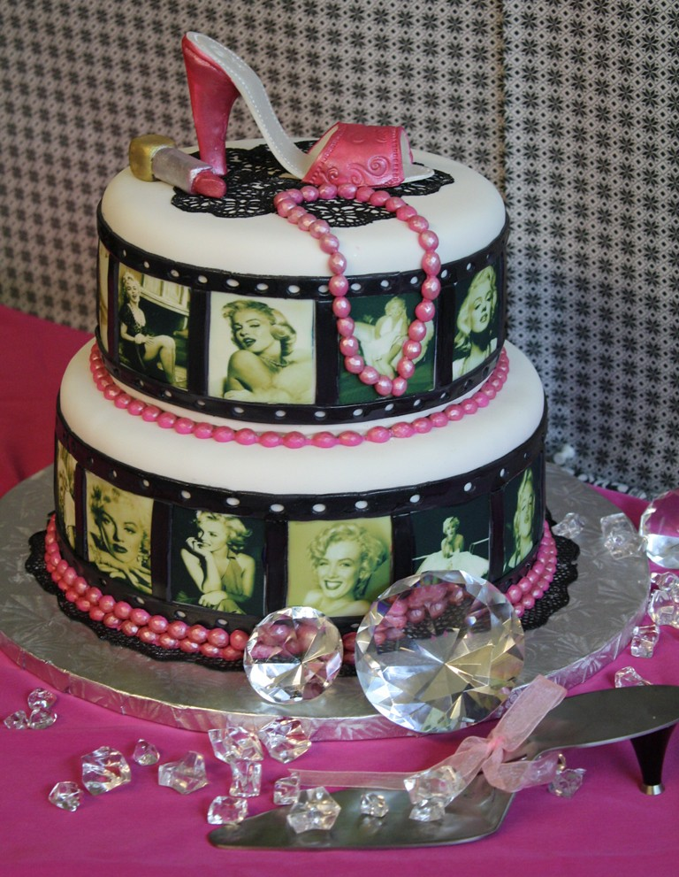Magnificent Marilyn Monroe High Heels Shoe Birthday Cake The Cake Zo Flickr Personalised Birthday Cards Paralily Jamesorg