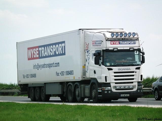Scania R Topline Wyse Transport (IRL)