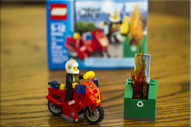 Cycle #5 - Lego Man to the Rescue