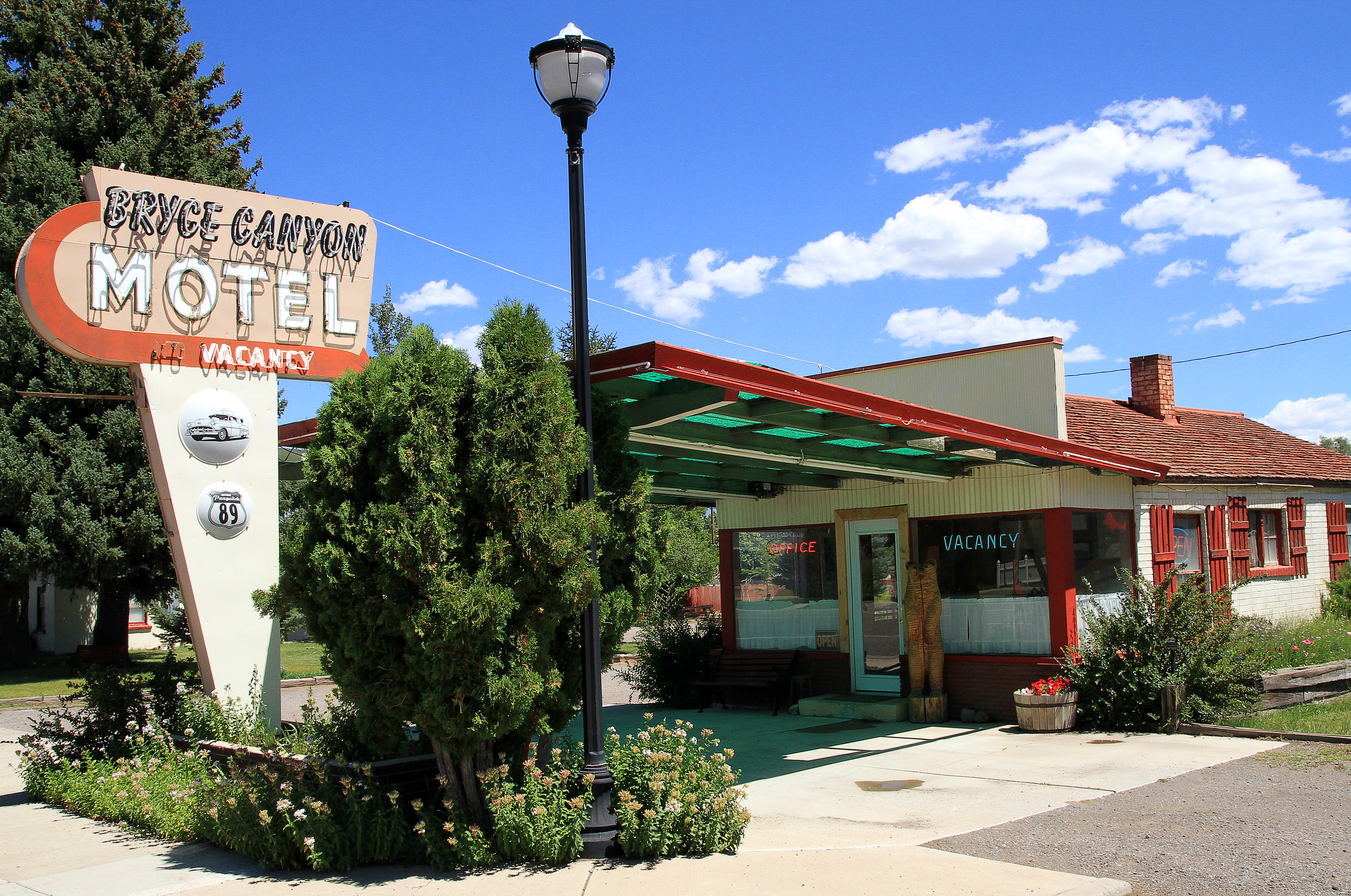 Bryce Canyon Motel - 308 North Main Street, Panguitch, Utah U.S.A. - August 14, 2013