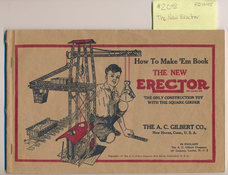 RD1045 The New Erector © 1938