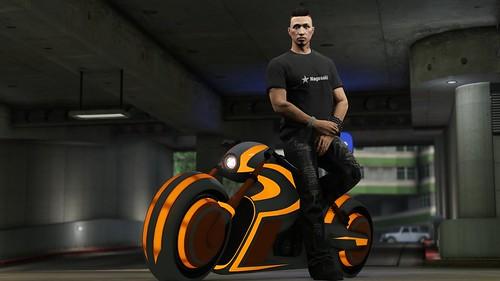 GTA Online Bikers -- Shotaro 2   by PlayStation.Blog