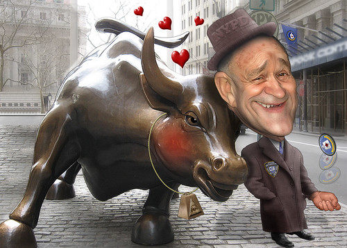 Commissioner Ray Kelly is cosy with Wall Street | by DonkeyHotey
