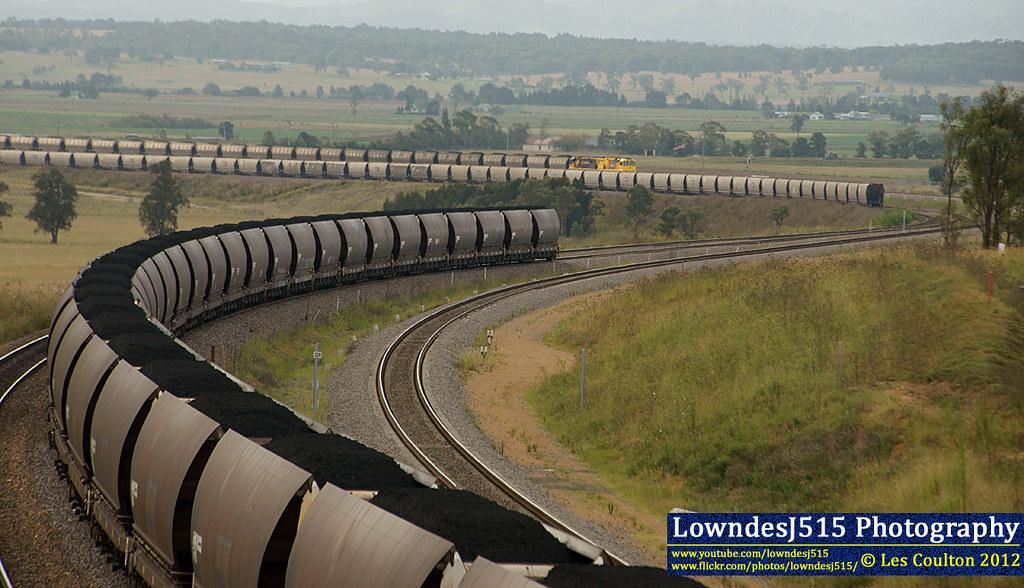 Three Trains at Minimbah by LowndesJ515