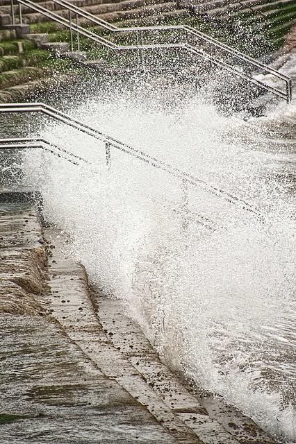Splash Up The Steps