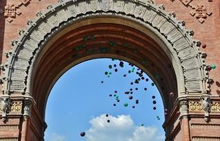 Arc de Triomf, Barcelona   by MARIA ROSA FERRE