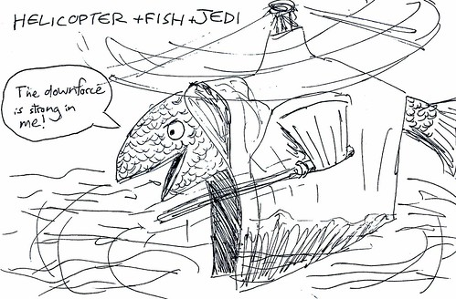 Helicopter + Fish + Jedi | by synapse