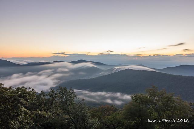 Loft Mountain Fog_