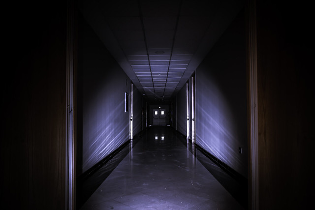 Halloween..You go towards the light...dare you?
