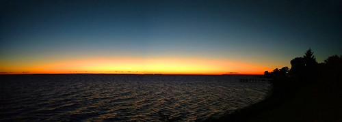 sunrise colonialbeach potomacriver october morning sun