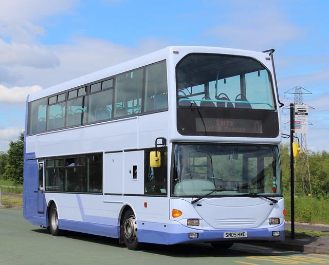 36023 - SN05 HWD - First Scotland East