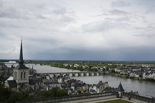 Overlooking Saumur | by Neil and Kathy Carey