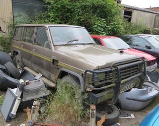 1989 Nissan Patrol LWB 3.3 diesel (260)   by Spottedlaurel