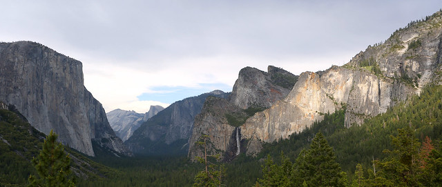 Tunnel View Late Afternoon