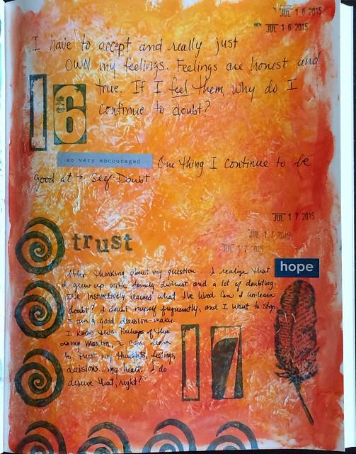 In my art journal