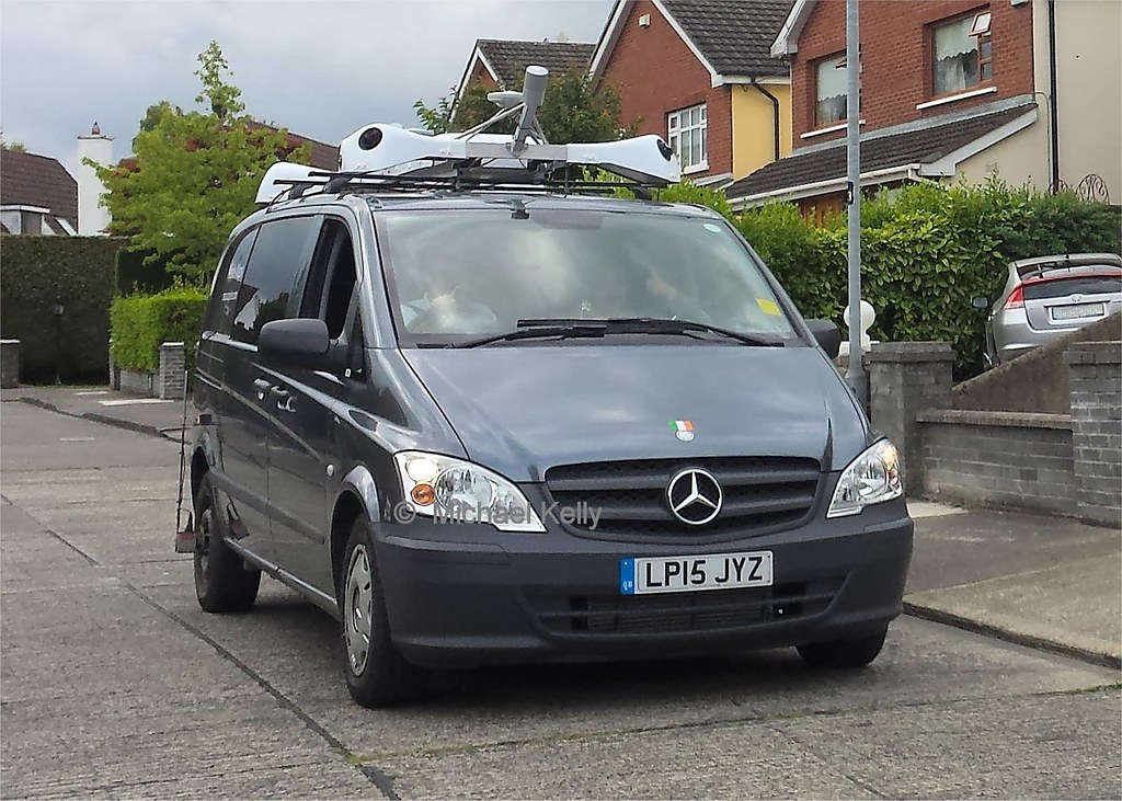 Apple Maps Mercedes Vito van | 7th August 2015 , BeechPark C