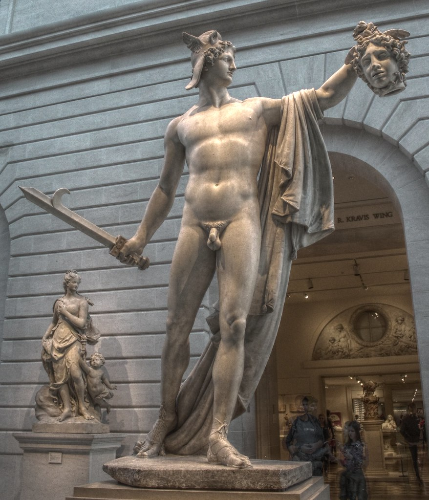 Perseus With The Head Of Medusa Antonio Canova Rome 1804