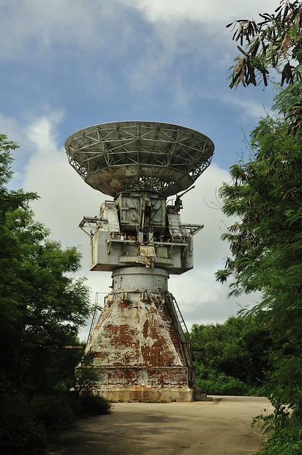 Pacific Barrier Radar (PACBAR III ) on Saipan