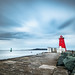 Poolbegh lighthouse, Dublin, Ireland - Seascape photography