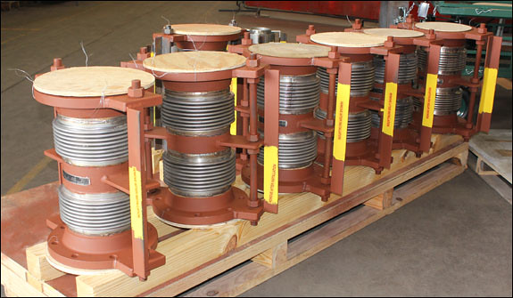 """8"""" Dia. Tied Universal Expansion Joint Designed for a Pipeline in Colorado"""