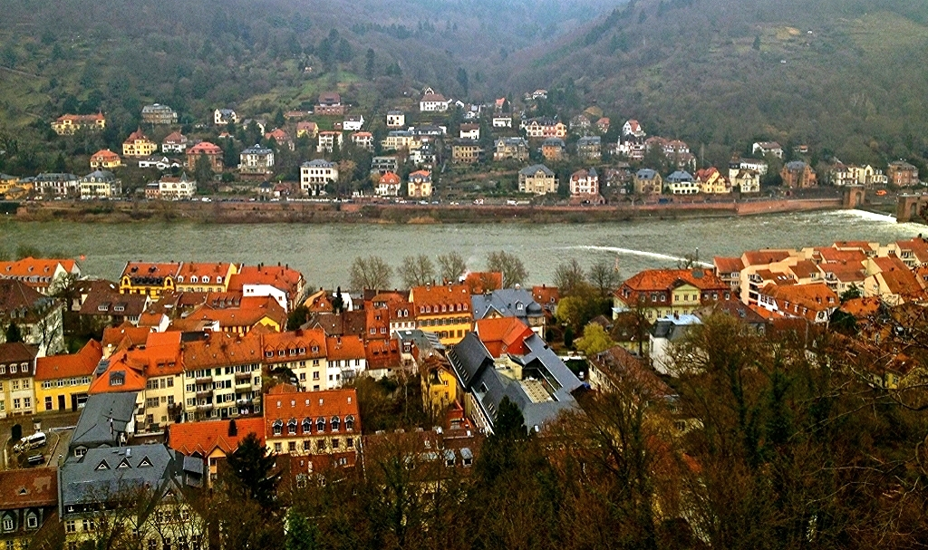 Here and there.........Heidelberg
