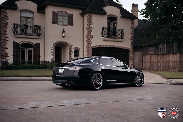 Tesla Model S - Vossen Forged HC-1 - © Vossen Wheels 2016 - 1023