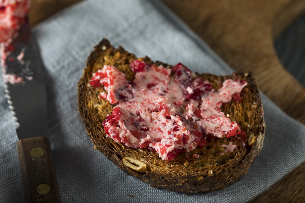 Fresh Homemade Cranberry Butter Spread