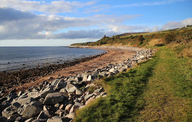 The beach at Helmsdale