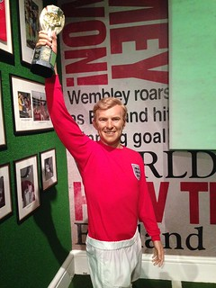 Bobby Moore figure at Madame Tussauds London