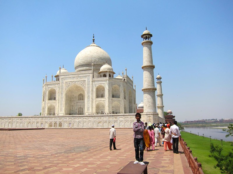 The Taj Mahal, Agra, India