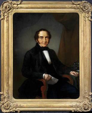 <p>Portret van Michael Anton Sinkel (1785-1848). Anoniem Noord-Nederlands, ca. 1830 (collectie Centraal Museum)</p>