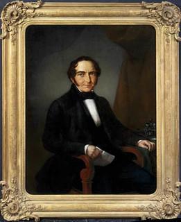 Portret van Michael Anton Sinkel (1785-1848). Anoniem Noord-Nederlands, ca. 1830 (collectie Centraal Museum)