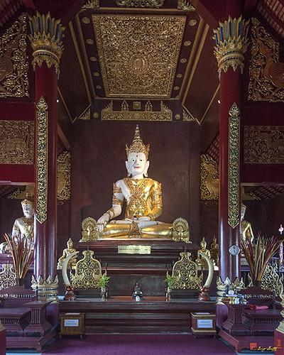 Wat Montien Phra Ubosot Principal Buddha Image (DTHCM0524) วัดมณ้ฑียร พระประธาน พระอุโบสถ | by Gerry Gantt Photography