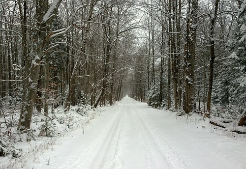 winter snow up michigan stonington hiawatha nf