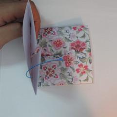 การพับกระดาษเป็นรูปหัวใจแบบ 3 มิติ 012