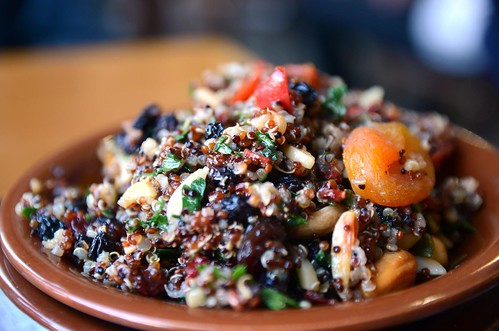 Quinoa salad AUD6.50 half serve - Oasis Bakery, Murrumbeena