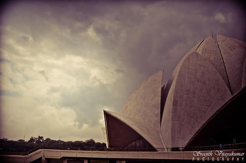 Lotus Temple, Bahá'í Houses of Worship, New Delhi | by Sreejith Vijayakumar