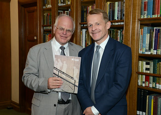School libraries APPG launch_David Laws MP and Lord Graham Tope_7 July 2014