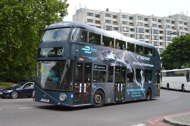 LT 318 (LTZ 1318) Arriva London New Routemaster