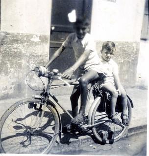 September 1945, in a street of Casablanca