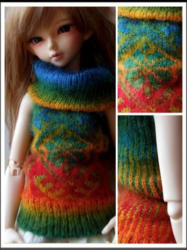 OOAK knit for MNF | by Kirika Dawn